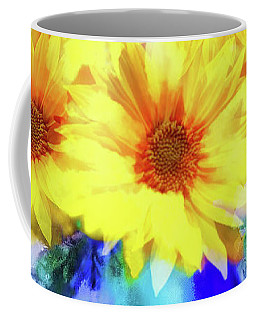 A Vase Of Sunflowers Coffee Mug