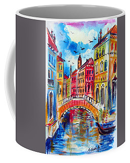 A Venetian Bridge  Coffee Mug