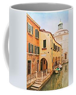 A Venetian View - Sotoportego De Le Colonete - Italy Coffee Mug by Brooke T Ryan