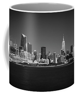 A View From Across The Hudson Coffee Mug by Eduard Moldoveanu