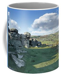 A View From Combestone Tor Coffee Mug