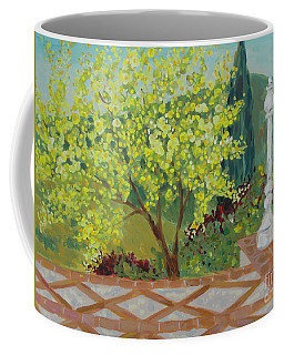 A View From Hearst Castle Coffee Mug