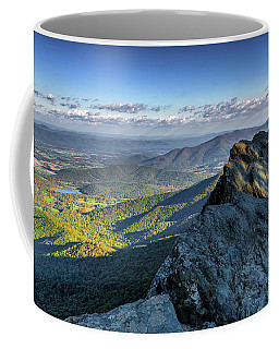 Coffee Mug featuring the photograph A View From The Cliffs by Lori Coleman