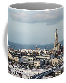 A View From The Pearl, Iceland Coffee Mug