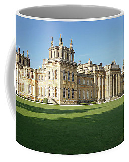 Coffee Mug featuring the photograph A View Of Blenheim Palace by Joe Winkler