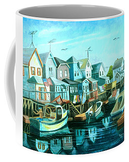 A View Of Ramblesville Coffee Mug