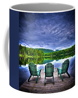 Coffee Mug featuring the photograph A View Of Serenity by David Patterson
