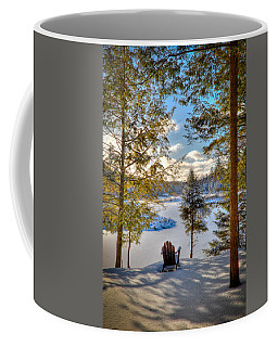 A View Of The Moose Coffee Mug