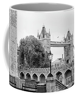 Coffee Mug featuring the photograph A View Of Tower Bridge by Joe Winkler