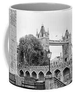 A View Of Tower Bridge Coffee Mug