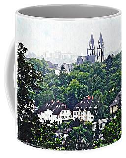 A View Of Wiesbaden Coffee Mug by Sarah Loft