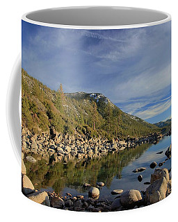 Coffee Mug featuring the photograph A View To Herlan Peak by Sean Sarsfield