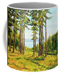 A View To The Lake Coffee Mug