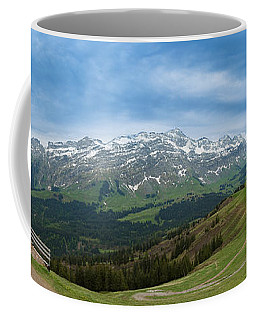 A View To The Saentis, Switzerland Coffee Mug