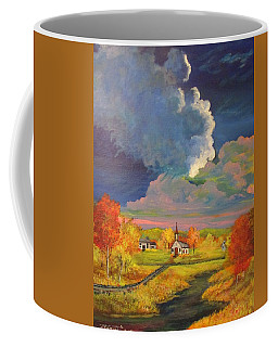 A Village In The Valley Coffee Mug