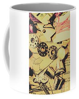 A Vintage Embellishment Coffee Mug