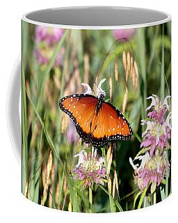 Coffee Mug featuring the photograph A Visit From The Queen by Sheila Brown