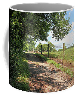 A Walk Along The Pasture Coffee Mug