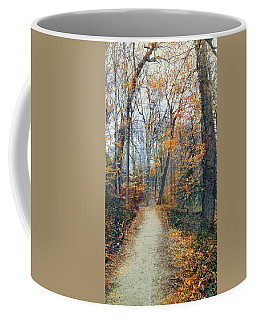 A Walk In November Coffee Mug
