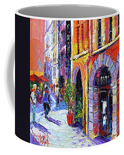 A Walk In The Lyon Old Town Coffee Mug