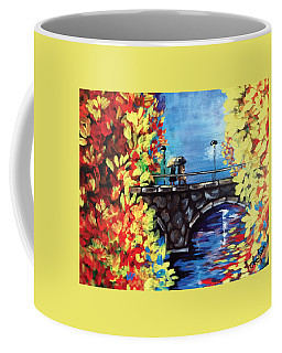 Paris In The Fall Coffee Mug