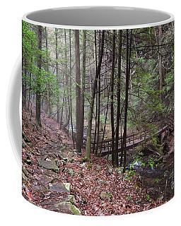 A Walk In The Woods Coffee Mug by Debbie Green
