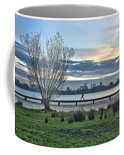 A Walk Through The Lake Coffee Mug