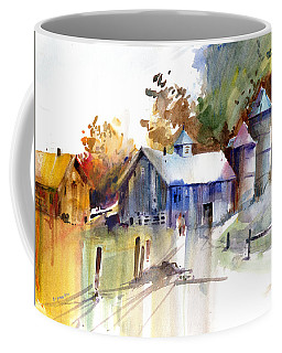 A Walk To The Barn Coffee Mug