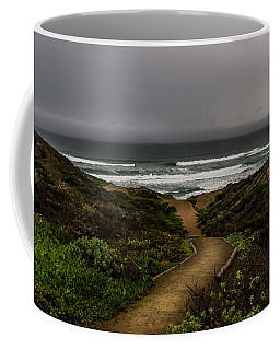 A Walk To The Beach Coffee Mug