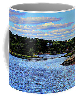 Coffee Mug featuring the photograph A Water View Newport Ri by Tom Prendergast