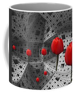 a way in Menger's sponge Coffee Mug