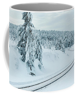 A Way In The Magic Winter Wonderland Coffee Mug by Andreas Levi
