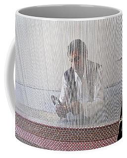 A Weaver Weaves A Carpet. Coffee Mug