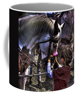 A Welcomed Touch Coffee Mug