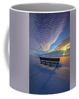 A Whole World In Front Of Us Coffee Mug
