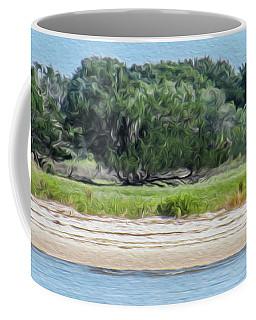 A Wild Horse Grazing Coffee Mug