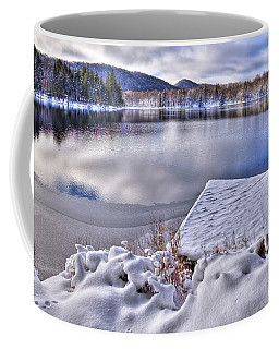 Coffee Mug featuring the photograph A Winter Day On West Lake by David Patterson