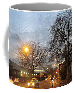 A Winter Evening  In 2015 At Park Royal - Northwest London Coffee Mug by Mudiama Kammoh