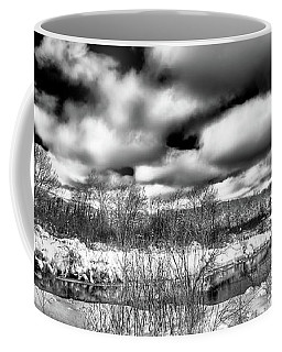 Coffee Mug featuring the photograph A Winter Panorama by David Patterson