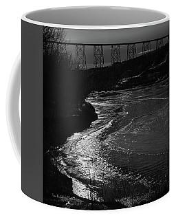 A Winter River Coffee Mug