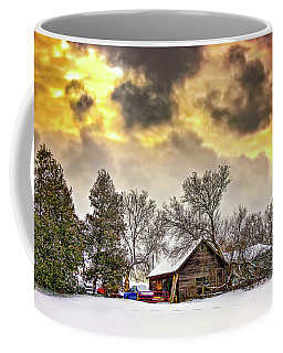 A Winter Sky Coffee Mug