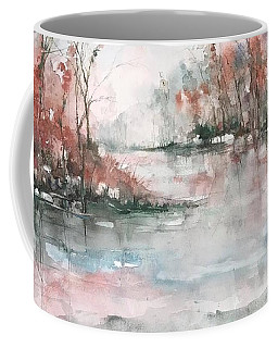 A Winters Dawn Coffee Mug