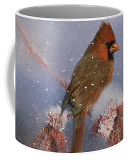 Coffee Mug featuring the photograph A Winters Day by Lana Trussell