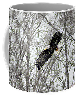 Coffee Mug featuring the photograph A Winter's Day by Viviana  Nadowski