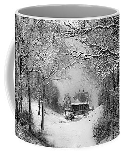 A Winter's Tale In Centerport New York Coffee Mug