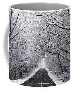 A Winter's Travel Coffee Mug