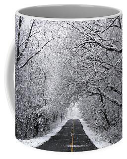 A Winter's Travel Coffee Mug by Kathi Mirto