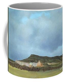 A Wintry Day In Abiquiu Coffee Mug