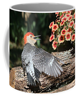 A Woodpecker Conversation Coffee Mug