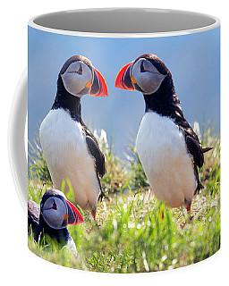 A World Of Puffins Coffee Mug